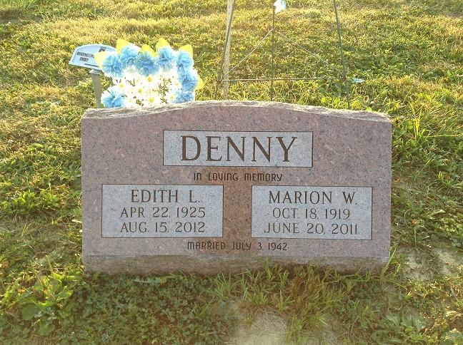 Edith LaVerne Pee Wee <i>Archer</i> Denny