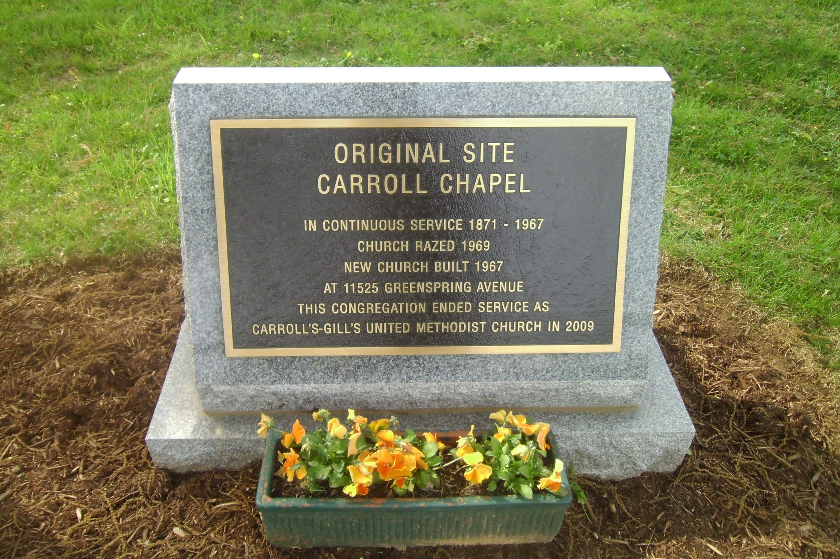 Carrolls-Gills United Methodist Church Cemetery