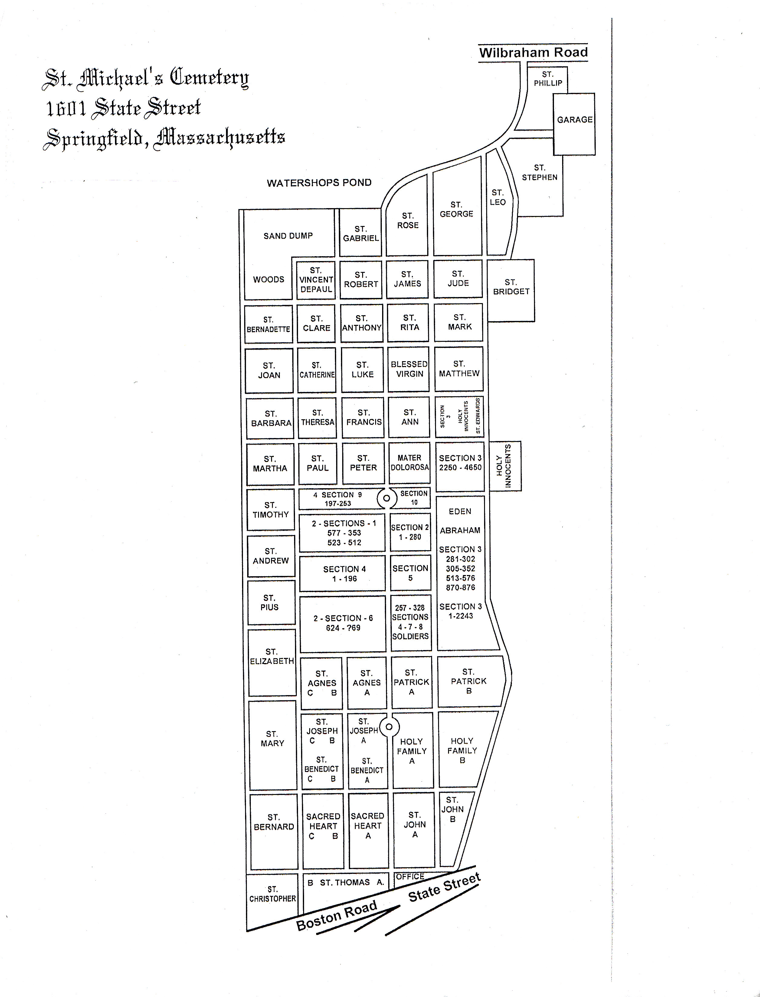 Saint Michaels Cemetery In Springfield Massachusetts Find A January 2013 Schematic Diagram Added By Jr Blain On 26 Jan