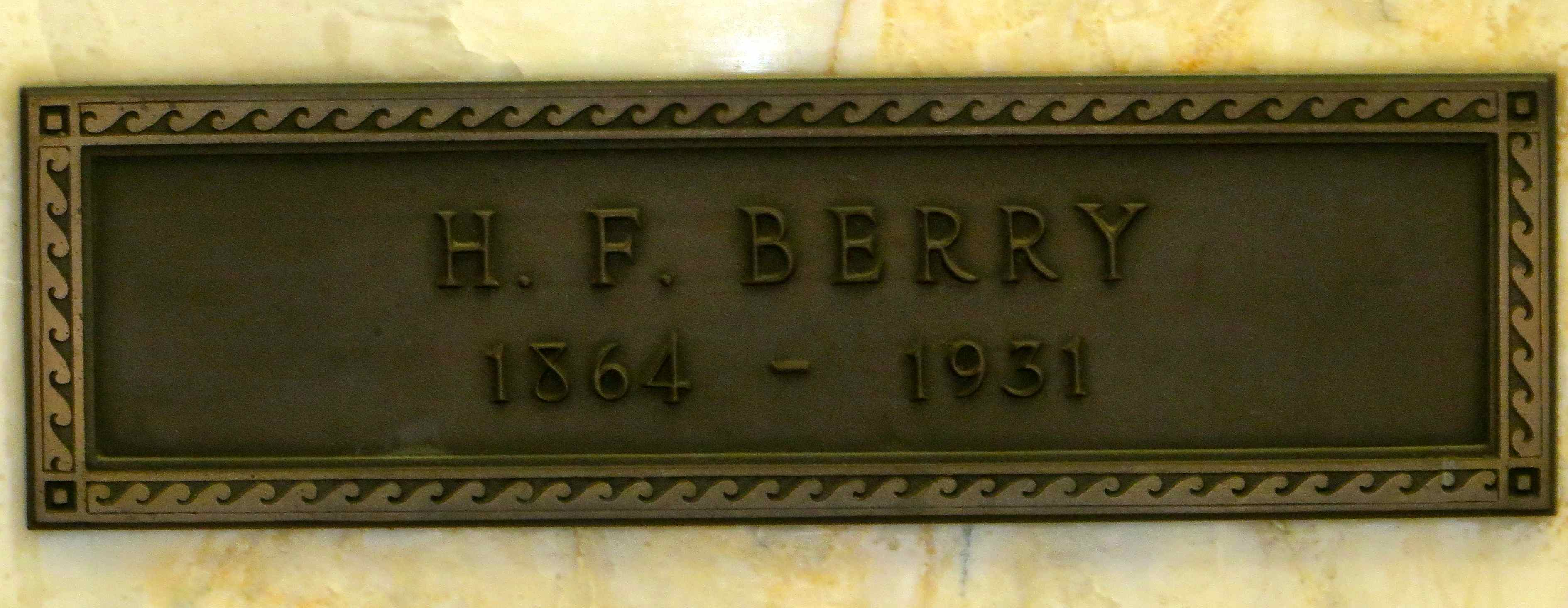 Hugh Franklin Berry