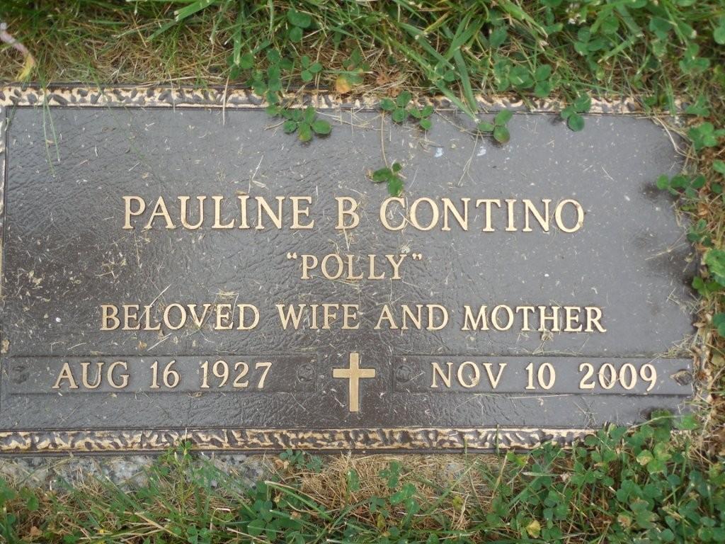 Pauline Polly <i>Barham</i> Contino