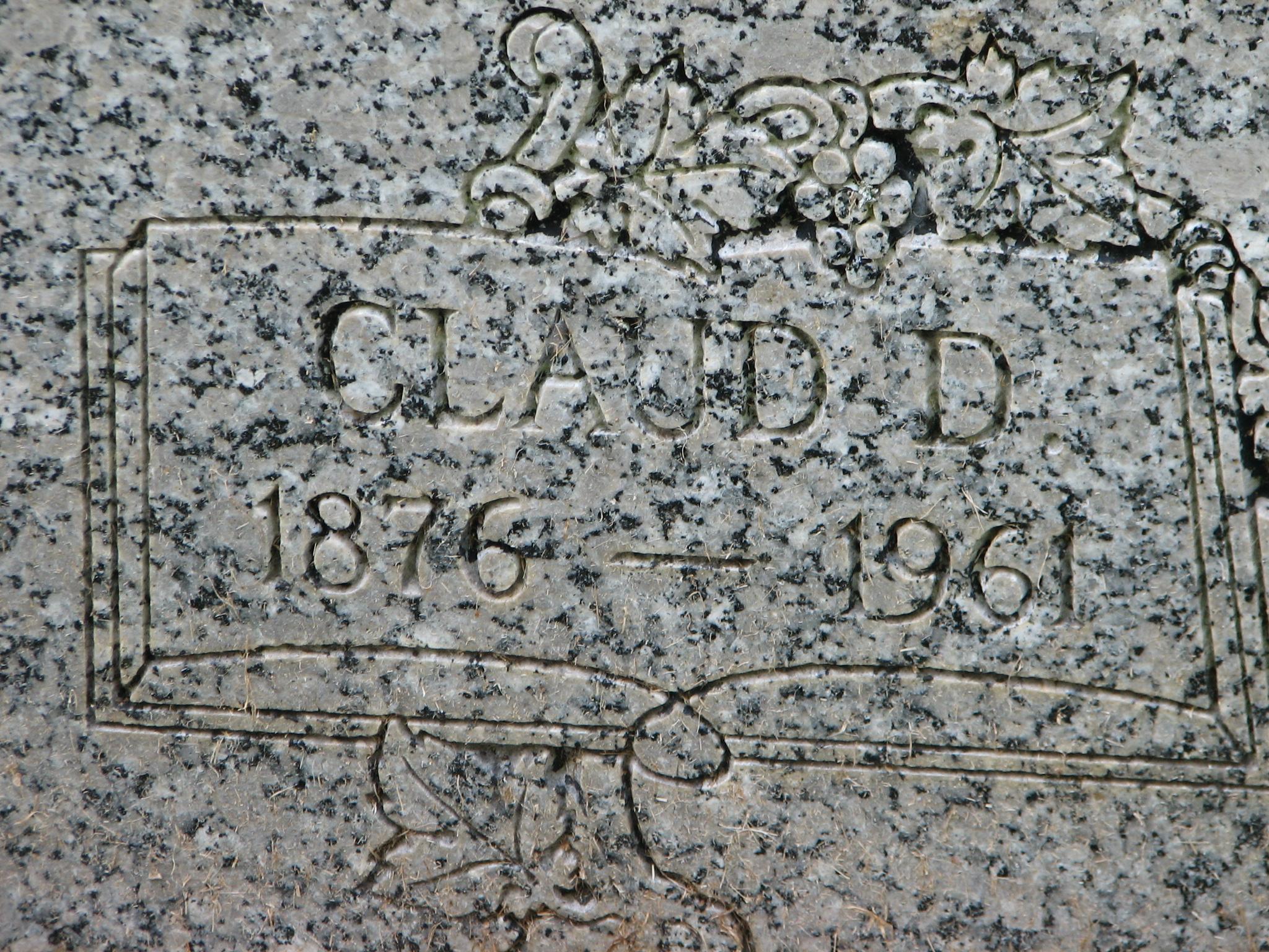 Claud Duvall Davenport