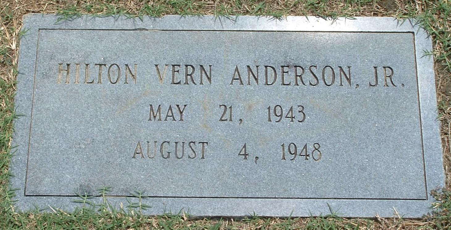 Hilton Vern Anderson, Jr