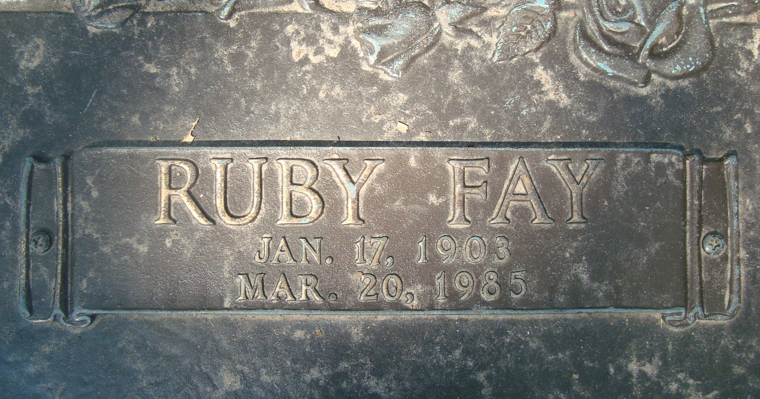 Ruby Fay <i>Andrews</i> Huse