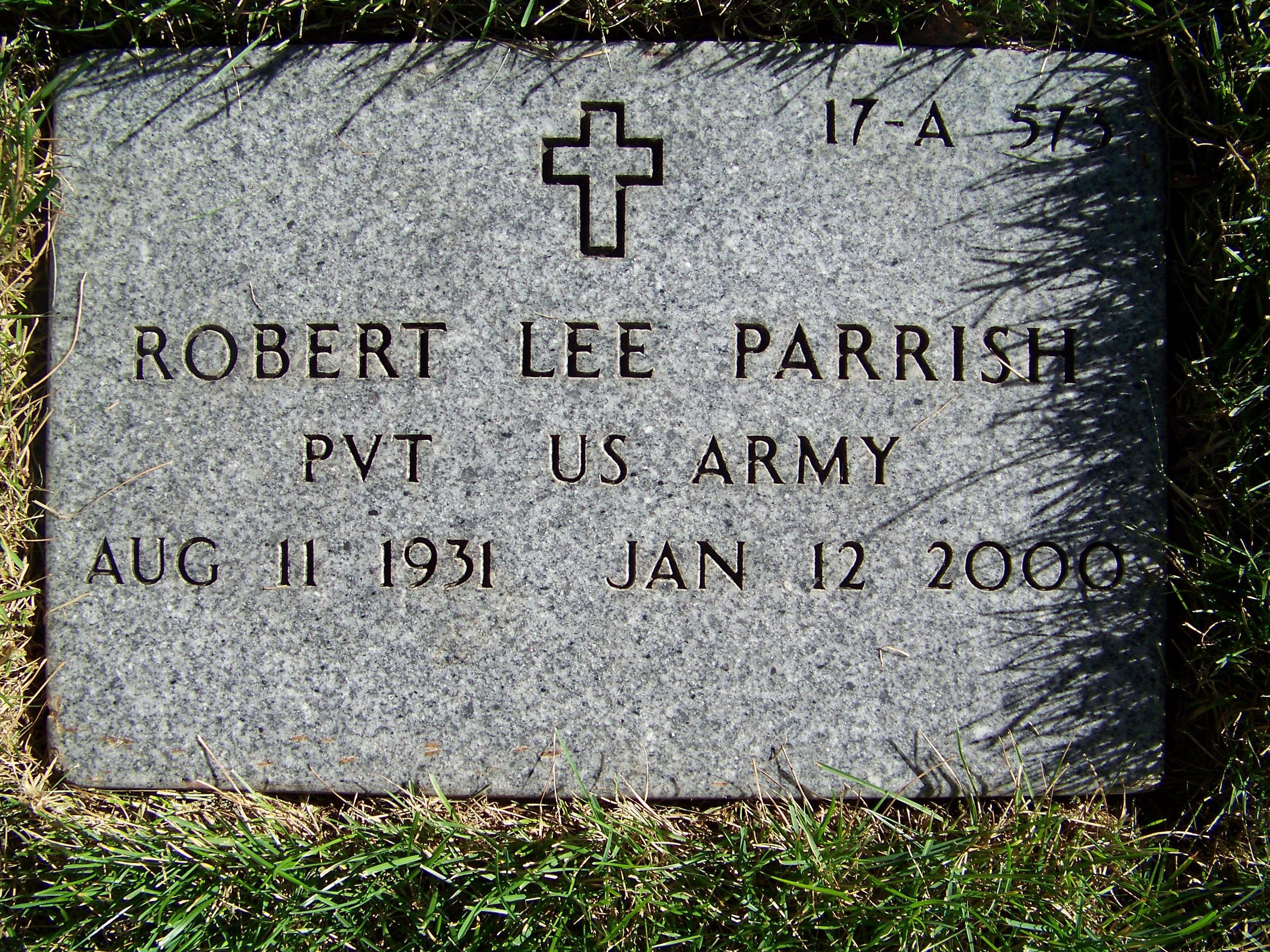 Robert Lee Parrish
