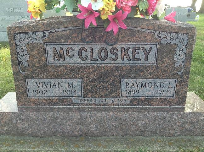 Vivian M <i>Smith</i> McCloskey