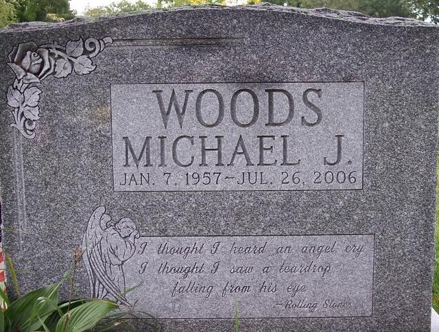 Michael Jeffrey Woods (1957 - 2006) - Find A Grave Memorial