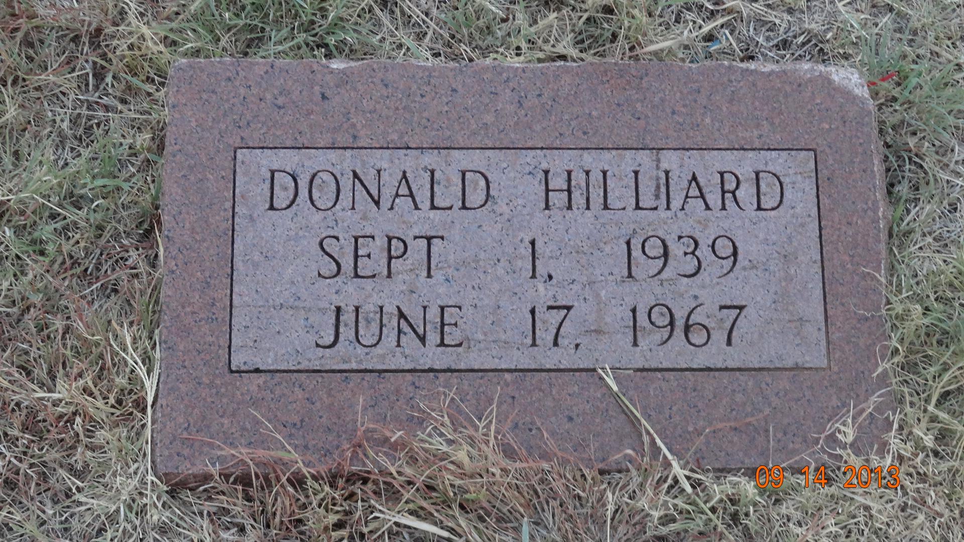 Donald Edgar Hilliard