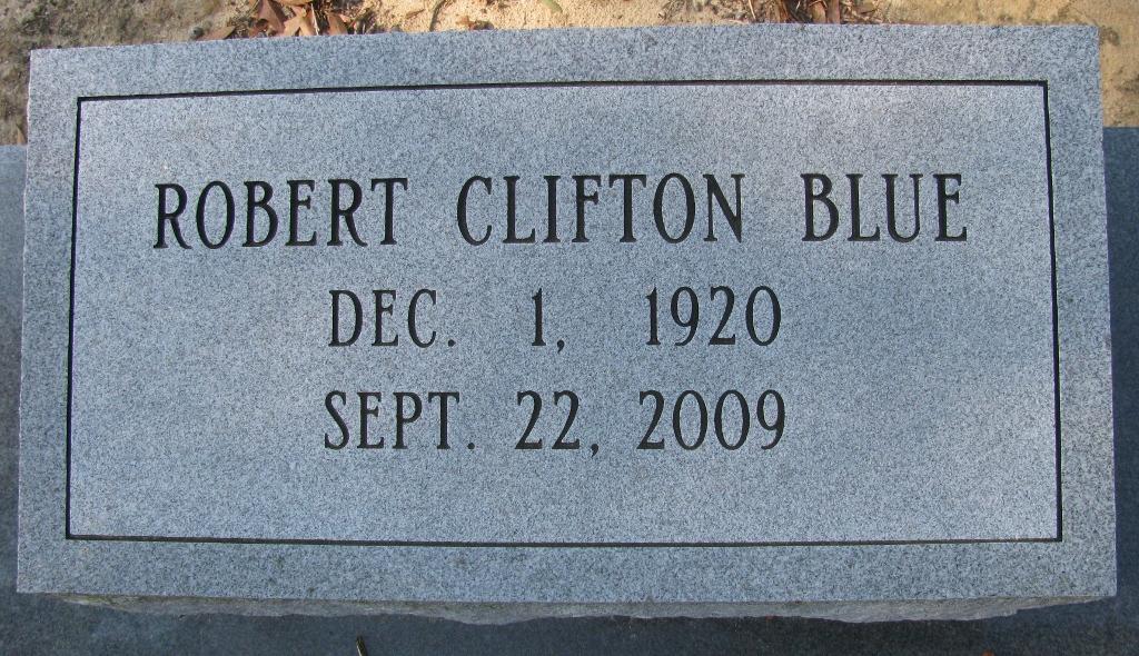 Robert Clifton Blue