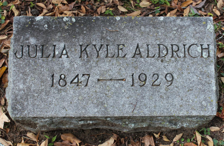Julia <i>Kyle</i> Aldrich