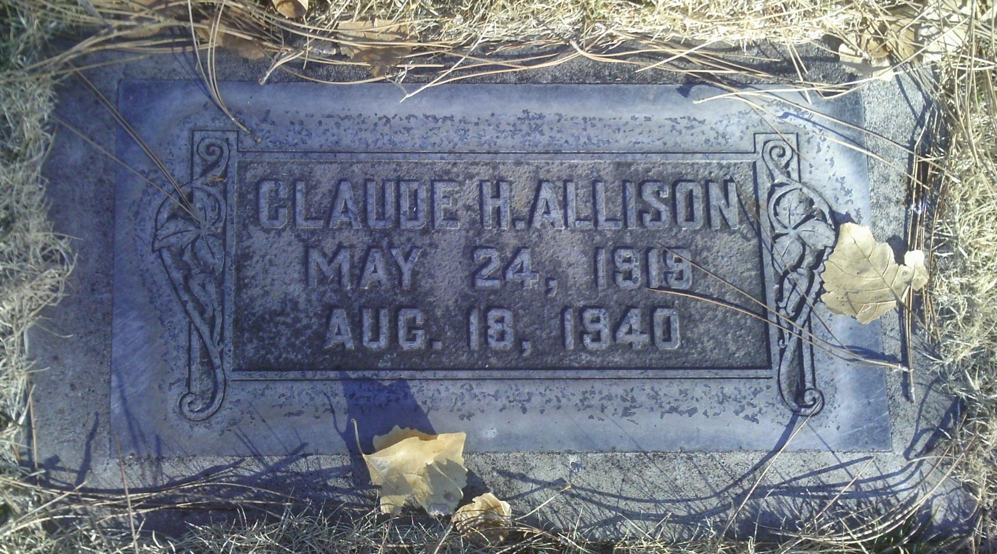 Claude H Allison
