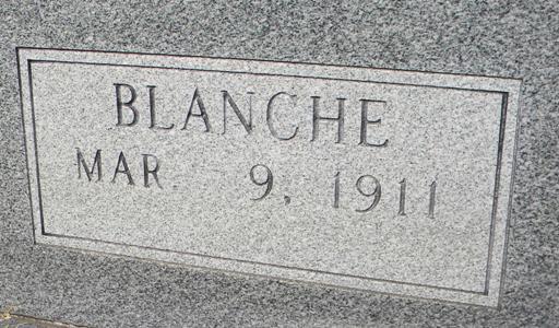 Blanche Ms Alex <i>Morow</i> Alexander
