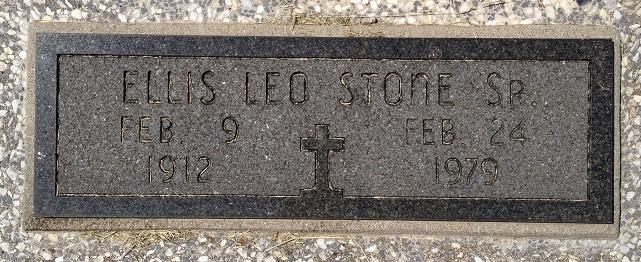 Ellis Leo Stone, Sr