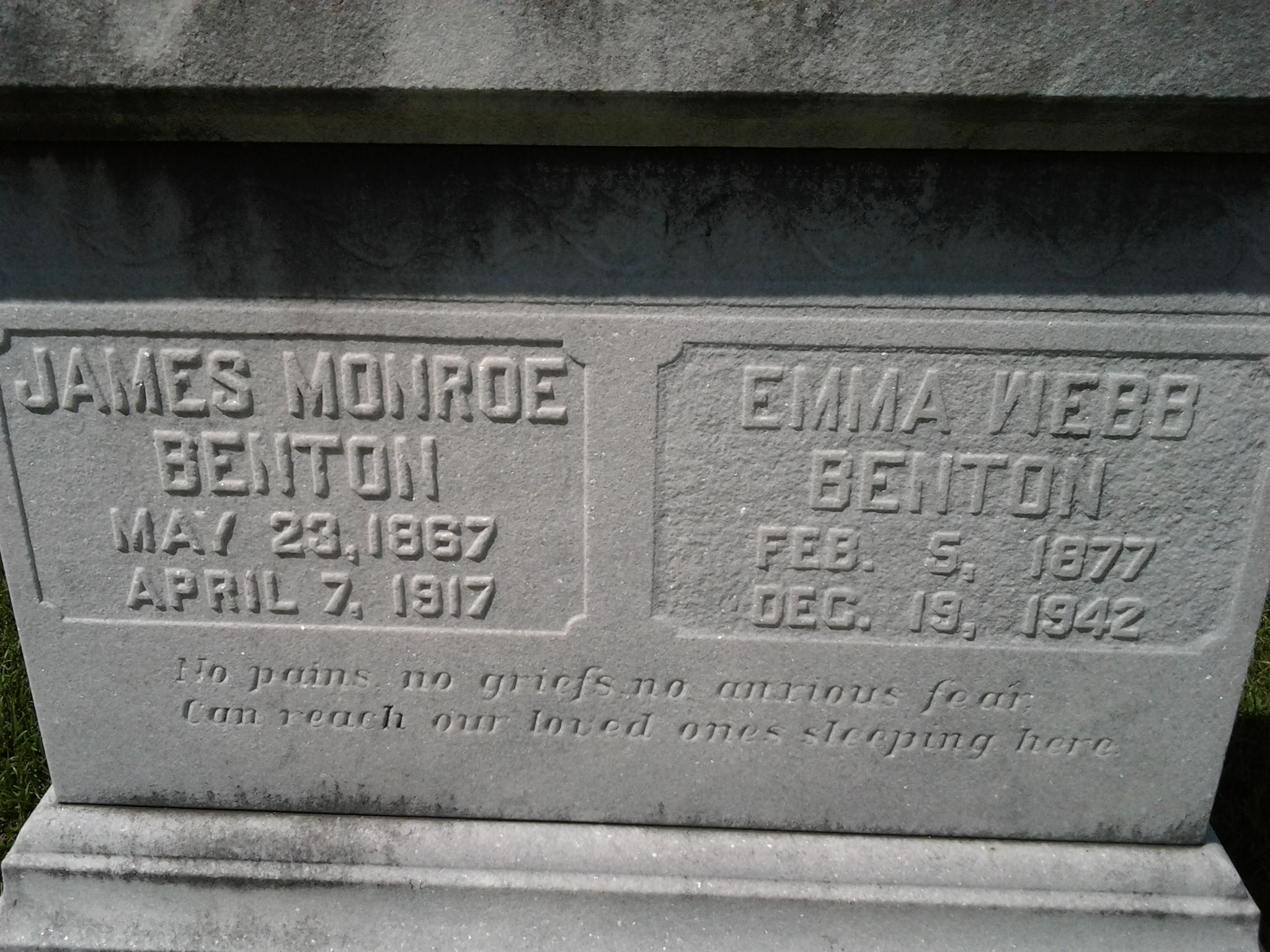 Emma <i>Webb</i> Benton