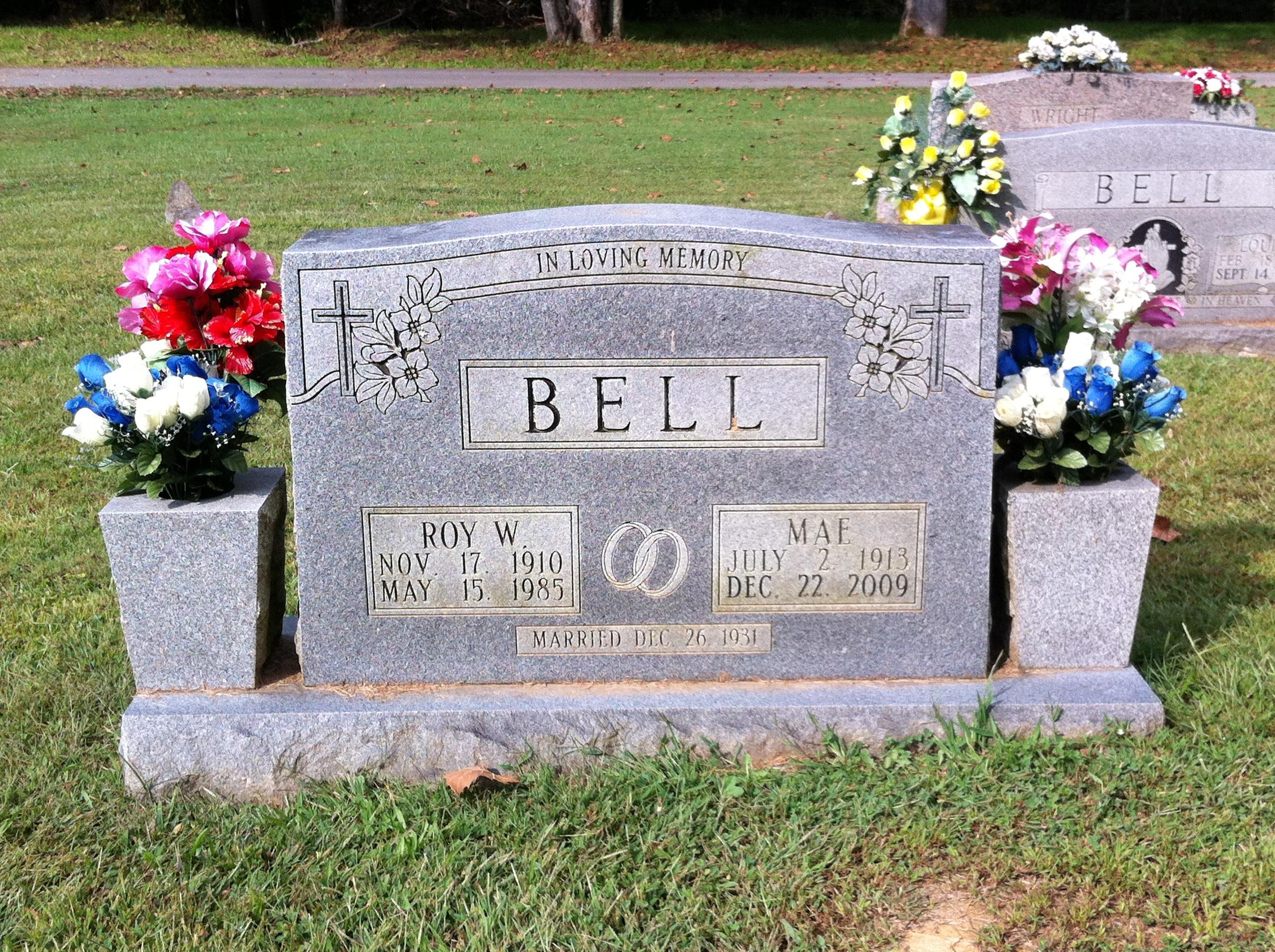 Mary Mae <i>Bennett</i> Bell