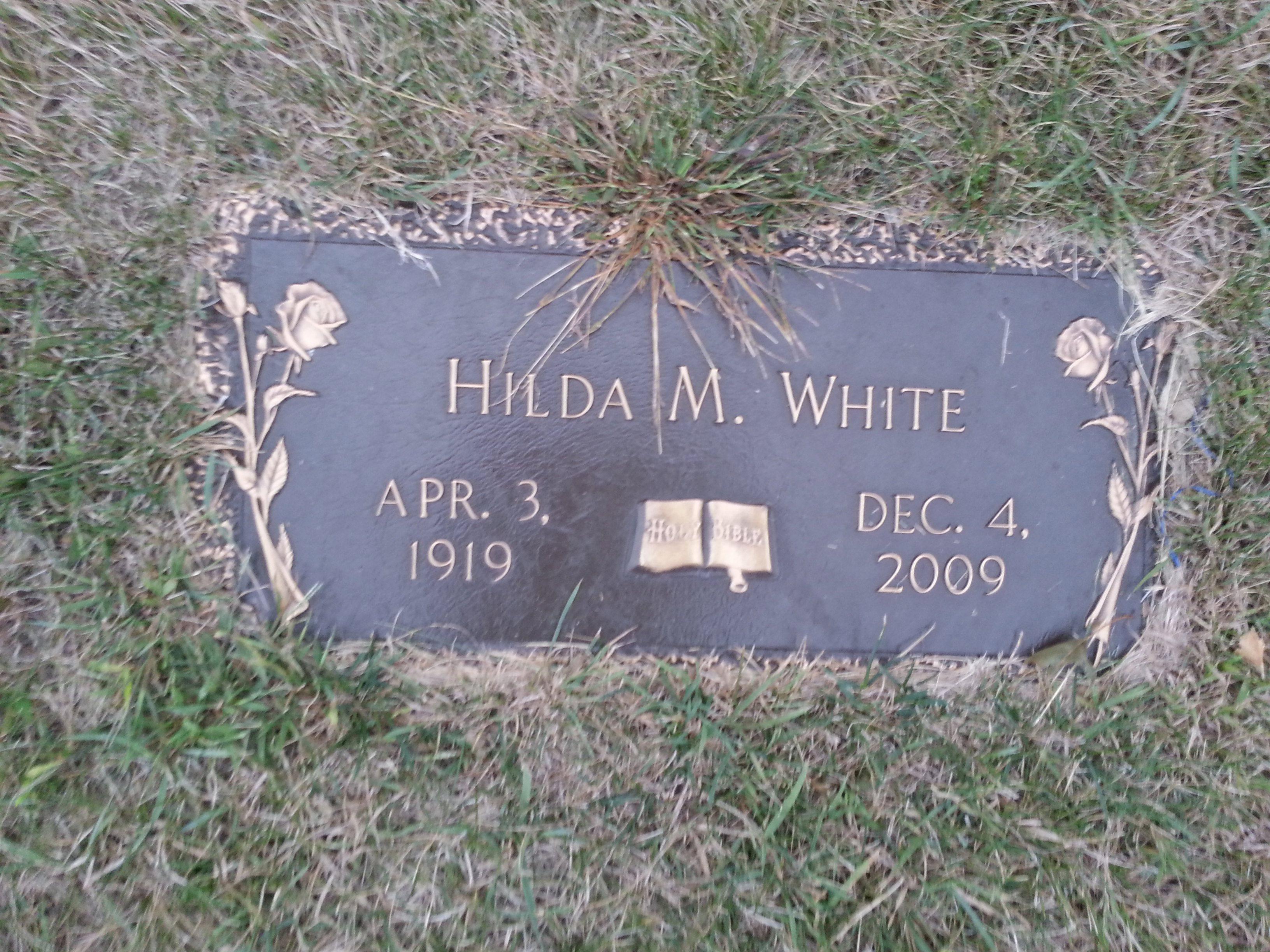 Hilda M White