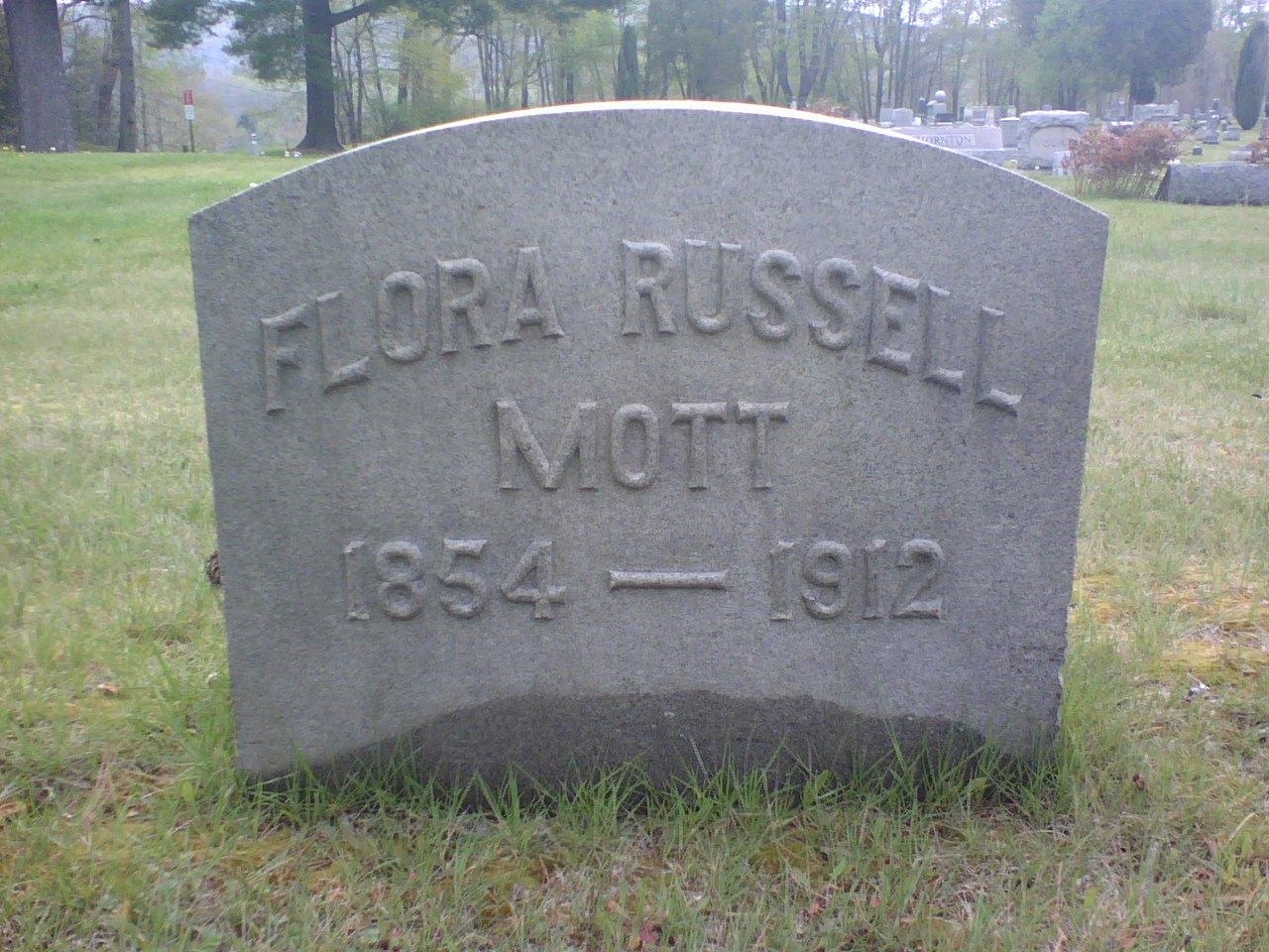 Flora J. <i>Russell</i> Mott