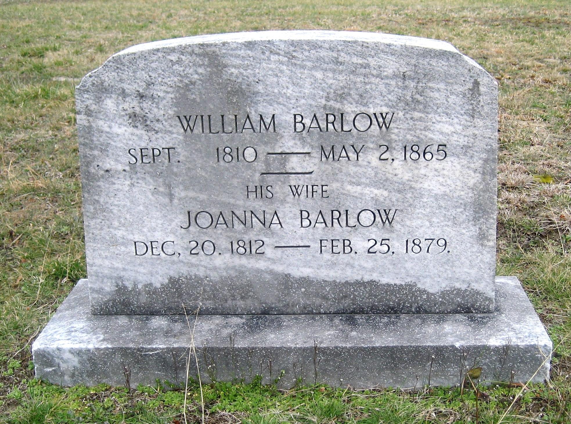 Joanna <i>Seal</i> Barlow
