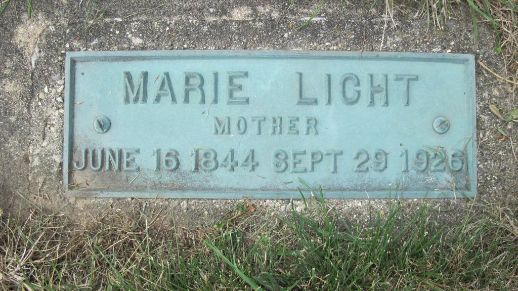 Maria Margaretha <i>Manning</i> Licht