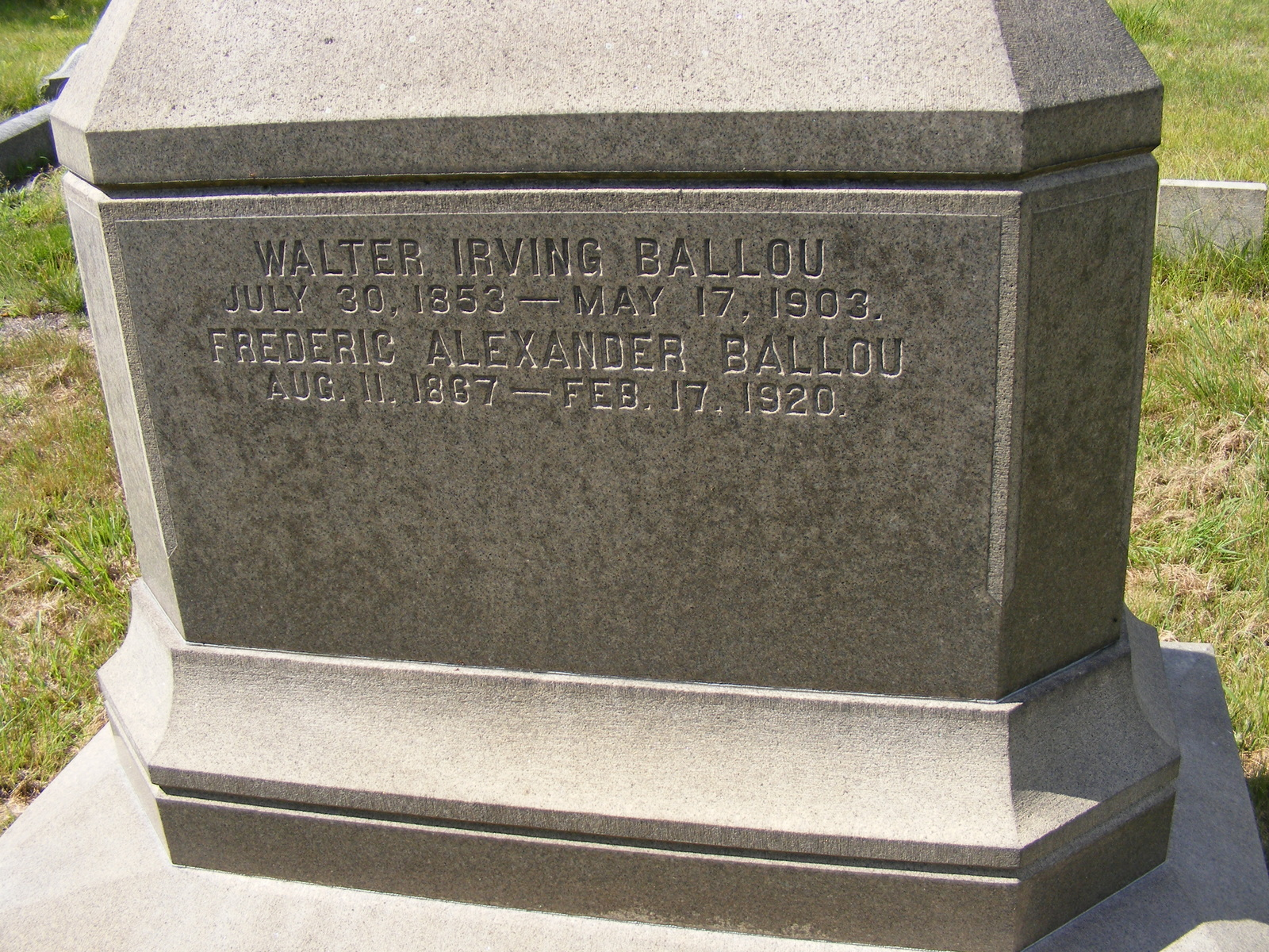 Frederick Alexander Ballou