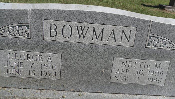 George A Bowman