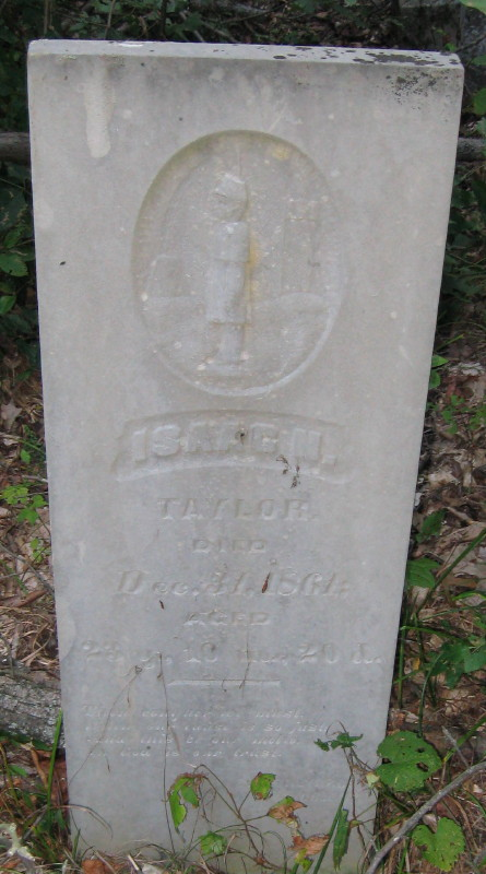 Pvt Isaac Newton Taylor