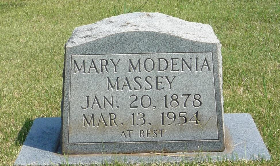 Mary Modenia Mollie Massey