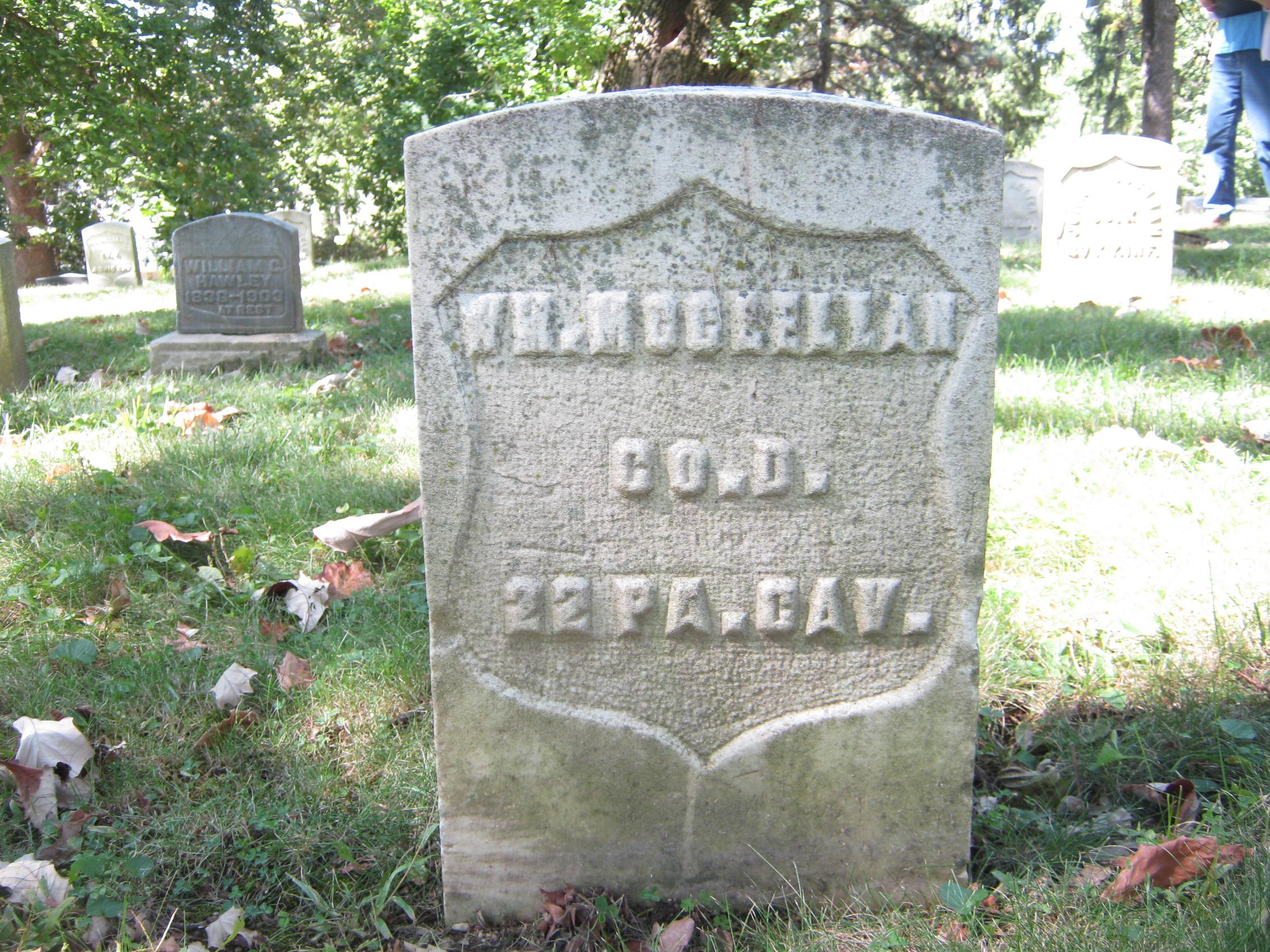 William M McClellan