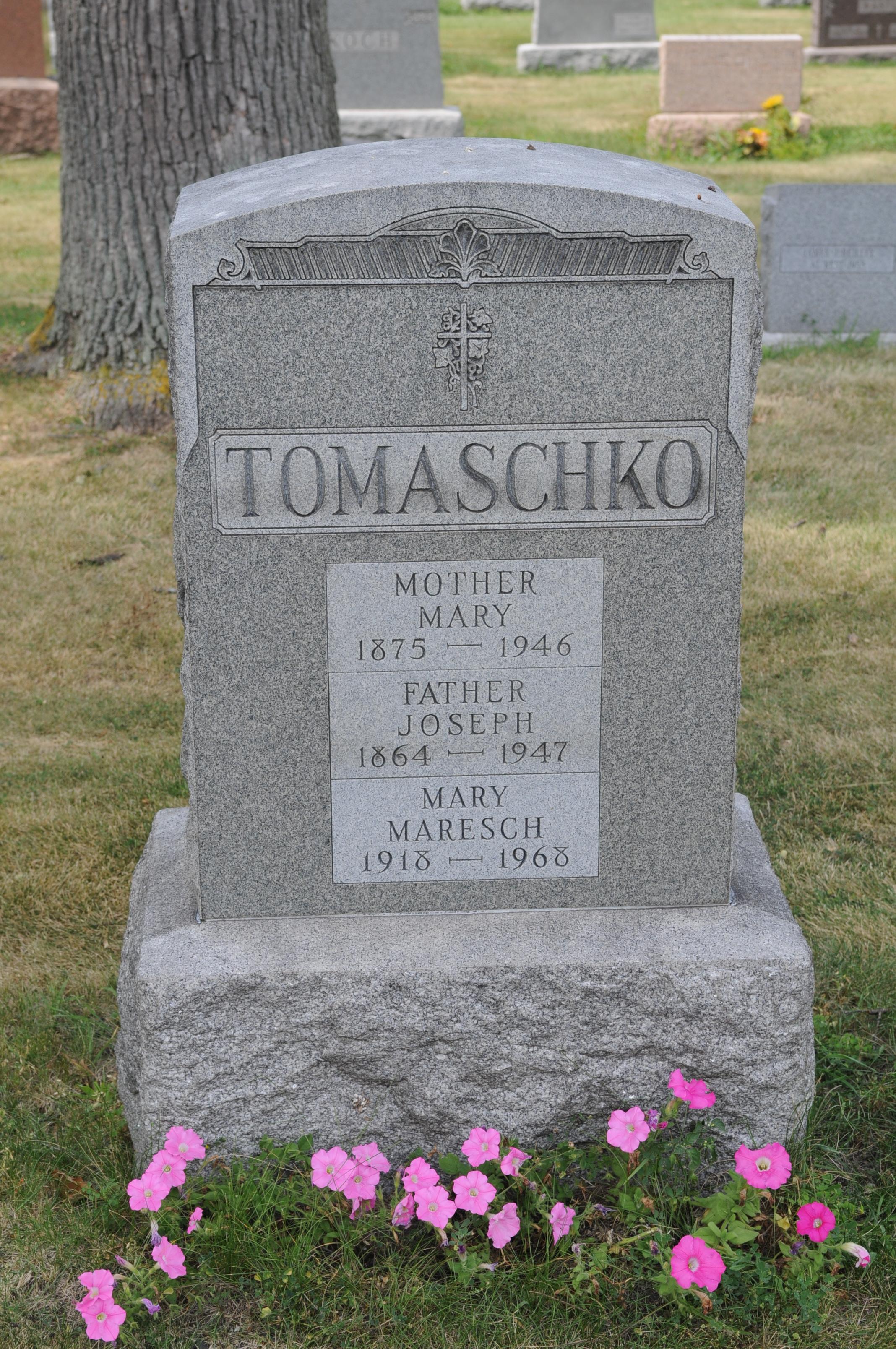 Mary Wanda <i>Tomaschko</i> Maresch