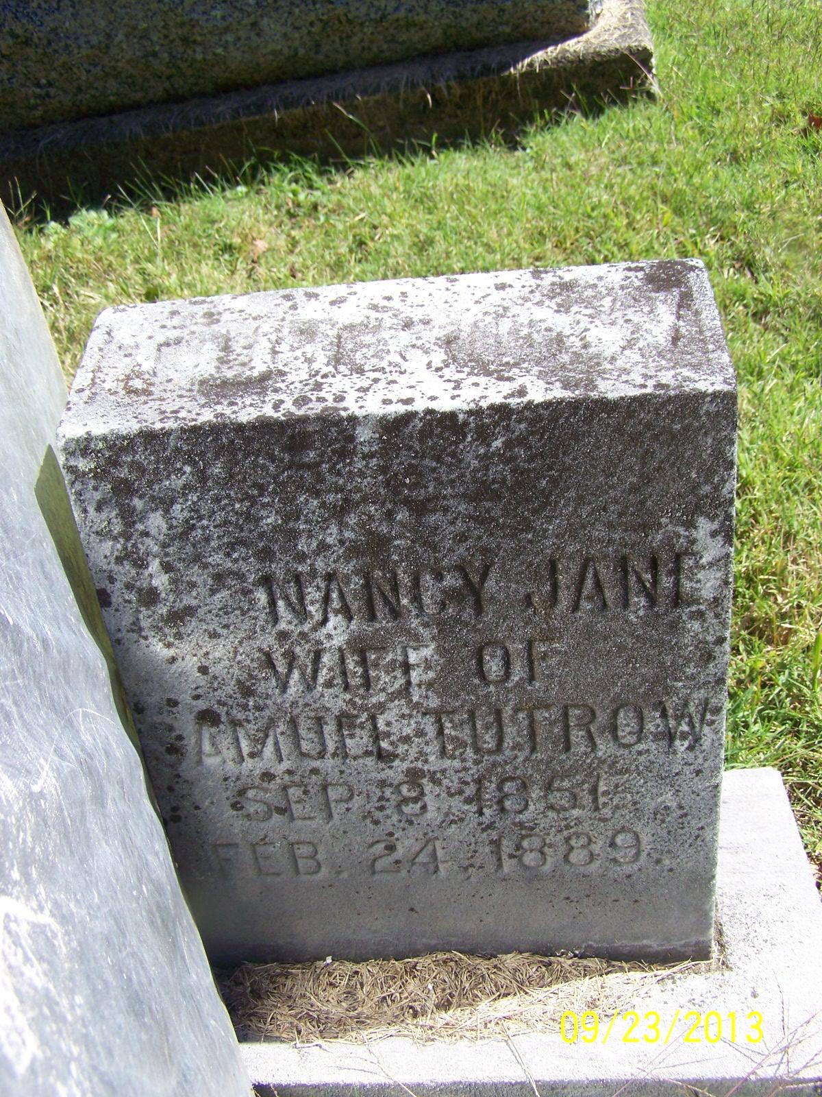 Nancy Jane <i>Pruitt</i> Tutrow