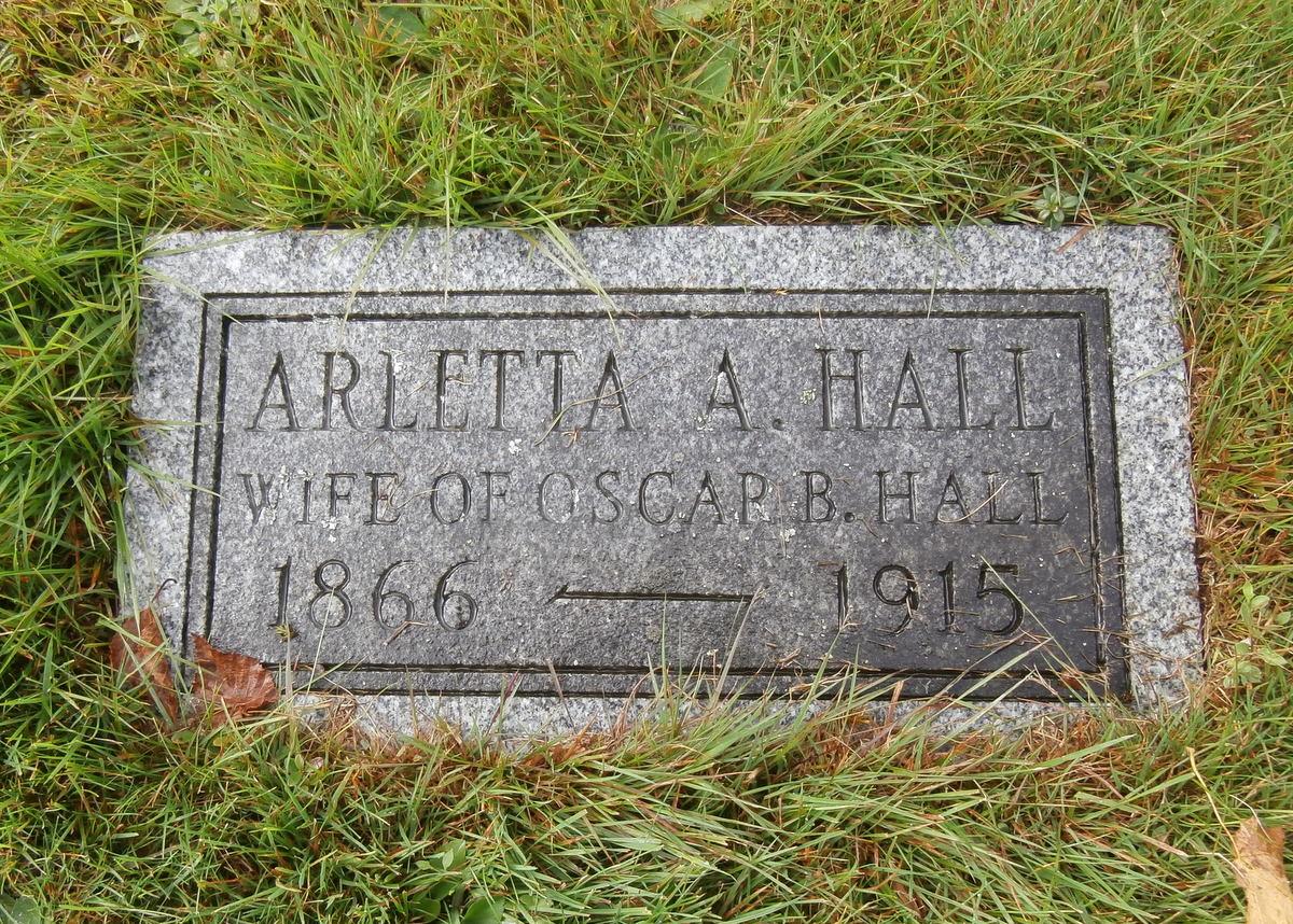 Arletta Annie <i>Rogers</i> Hall