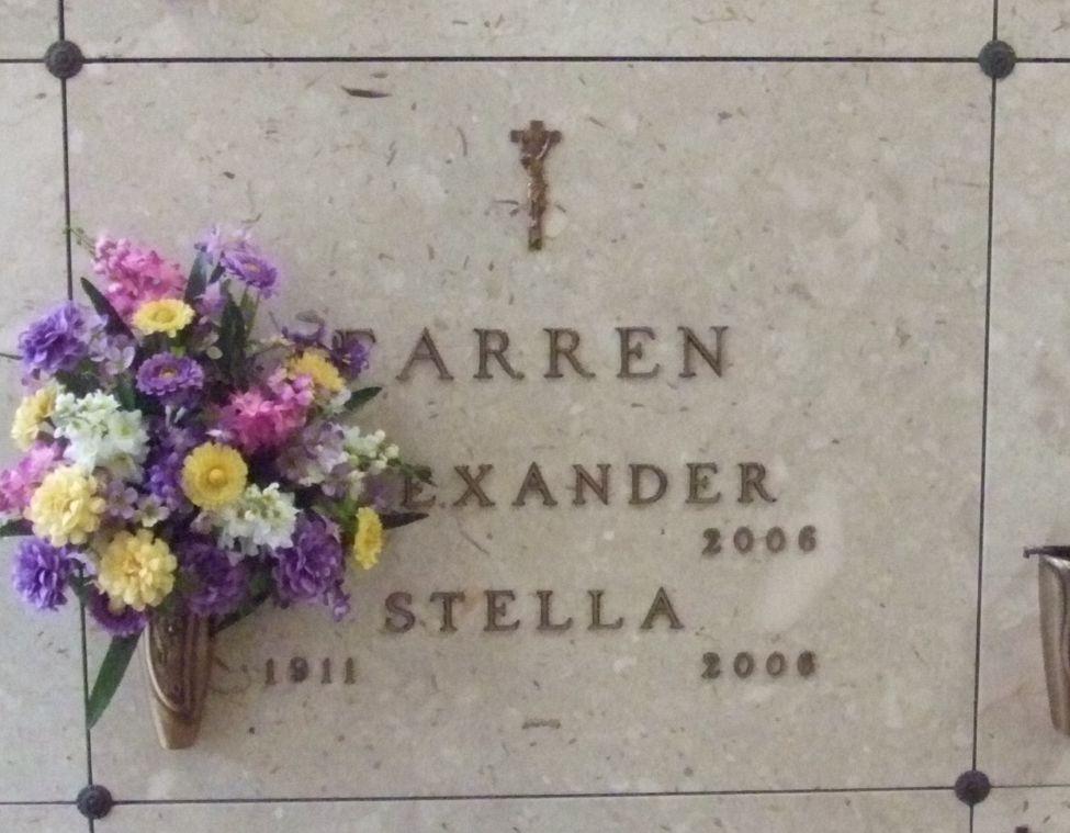 Stella <i>Leonard</i> Farren