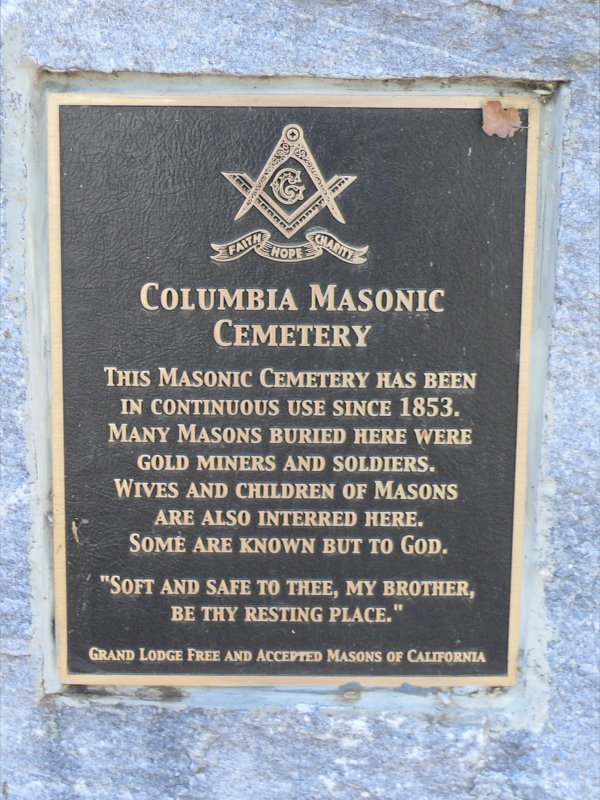 Columbia Masonic Cemetery
