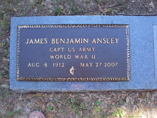 Rev James Benjamin Ansley