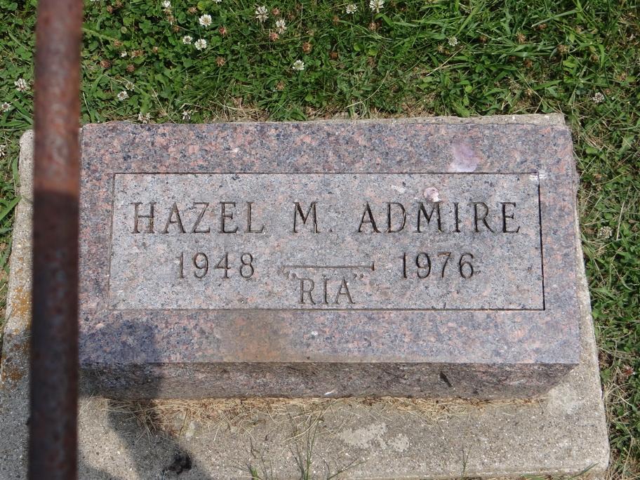 Hazel Marie <i>Houghen</i> Admire
