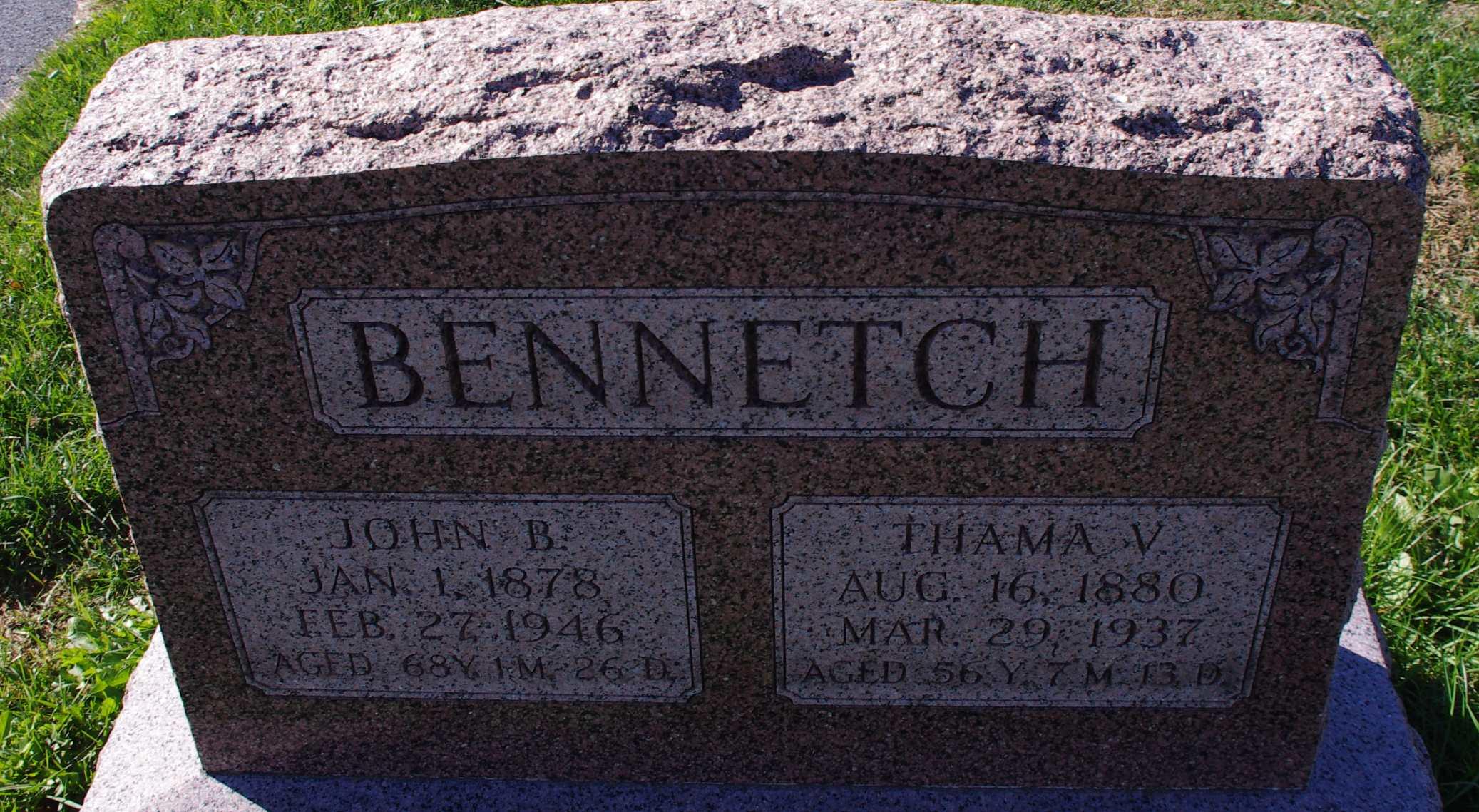John B Bennetch