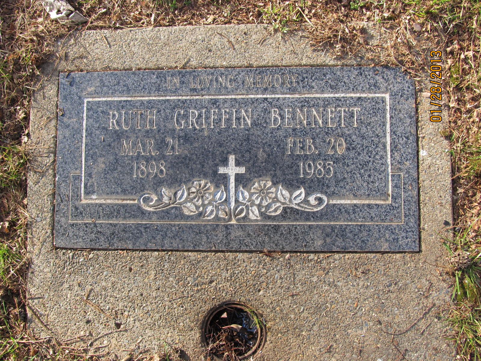 Ruth <i>Griffin</i> Bennett
