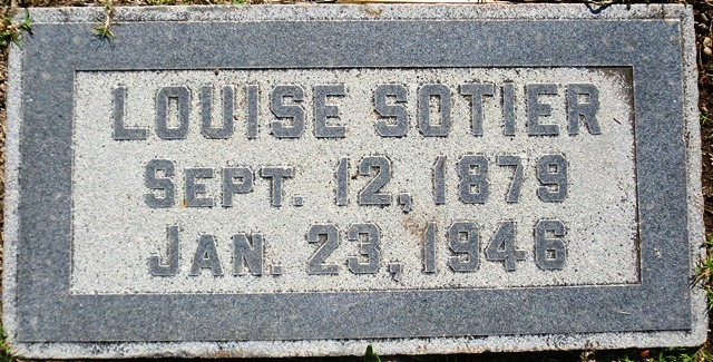Louise <i>Hewitson</i> Sotier