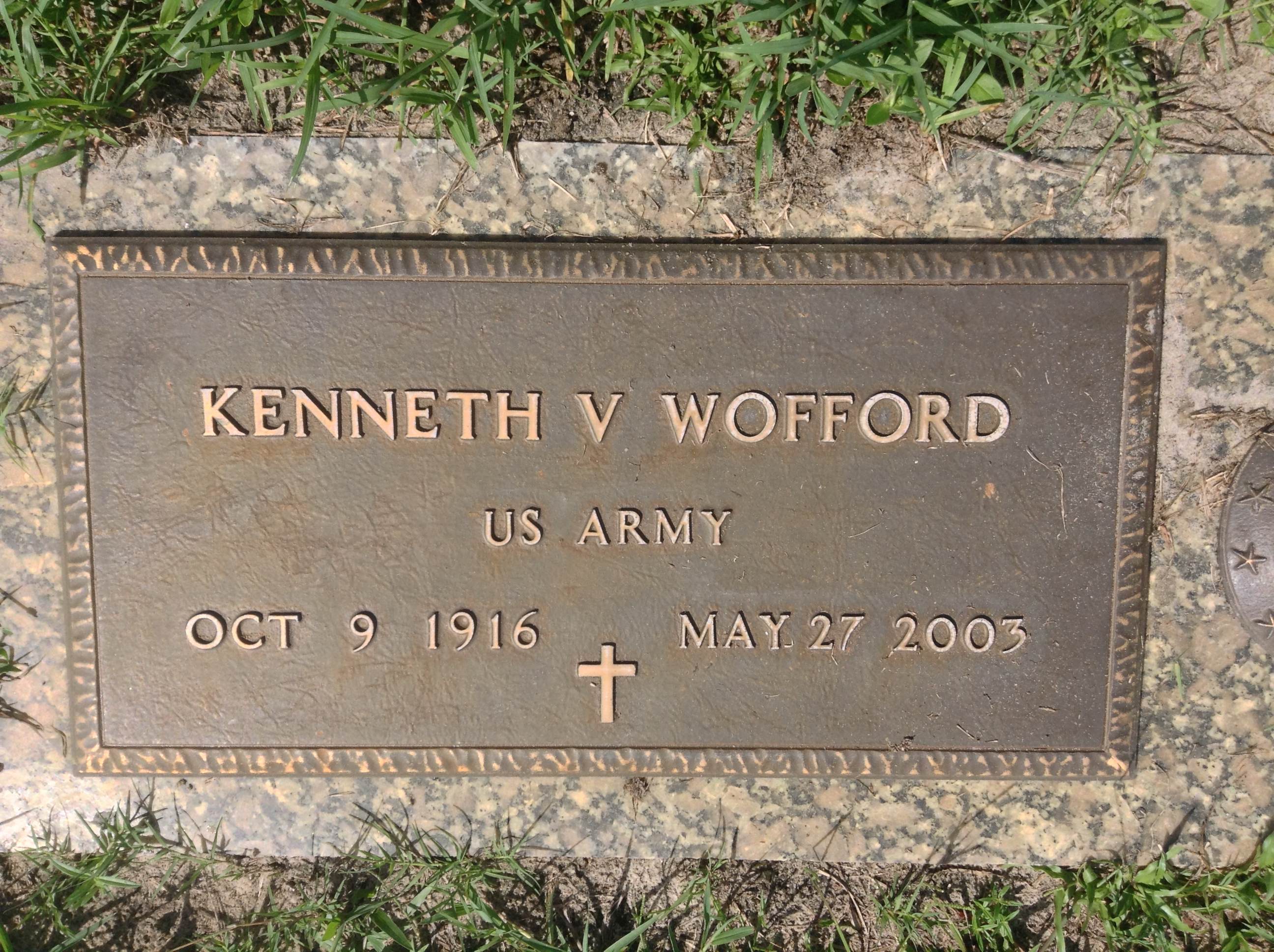 Kenneth Vance Wofford