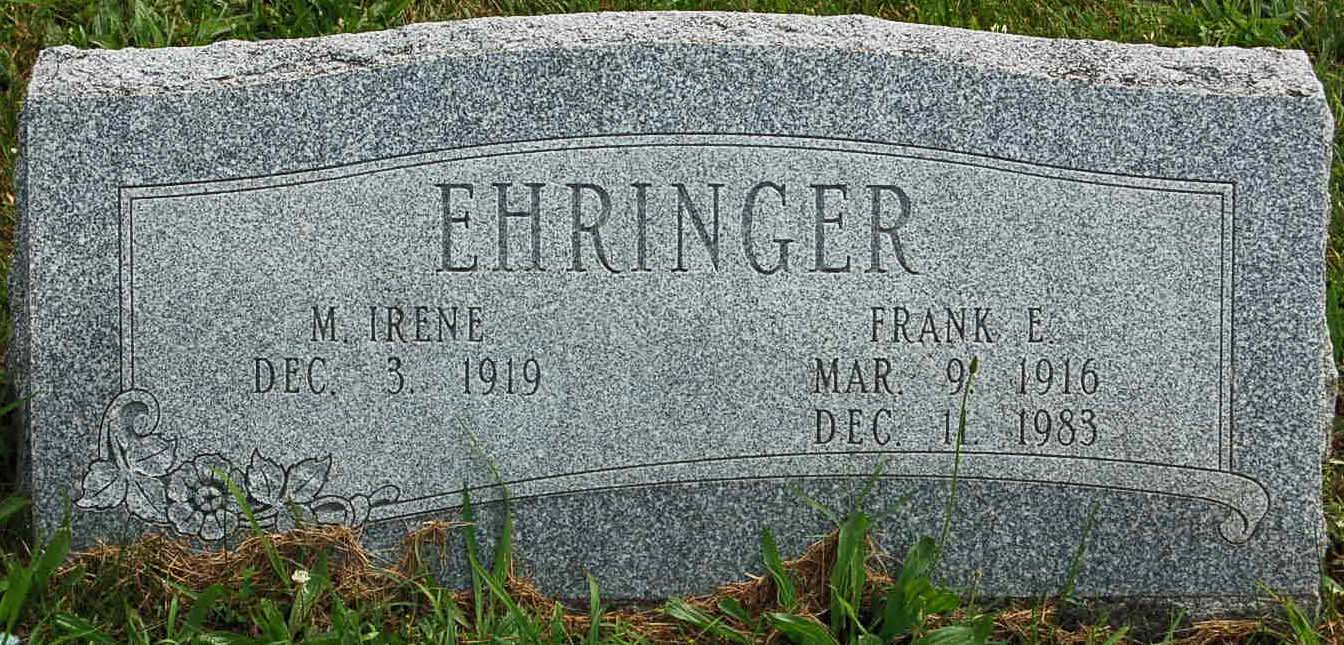 M Irene Ehringer