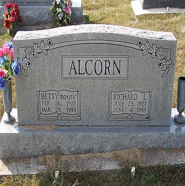 Betty Lou <i>Moxley</i> Alcorn