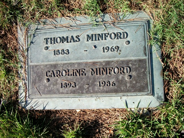 Caroline Fellows <i>Ward</i> Minford