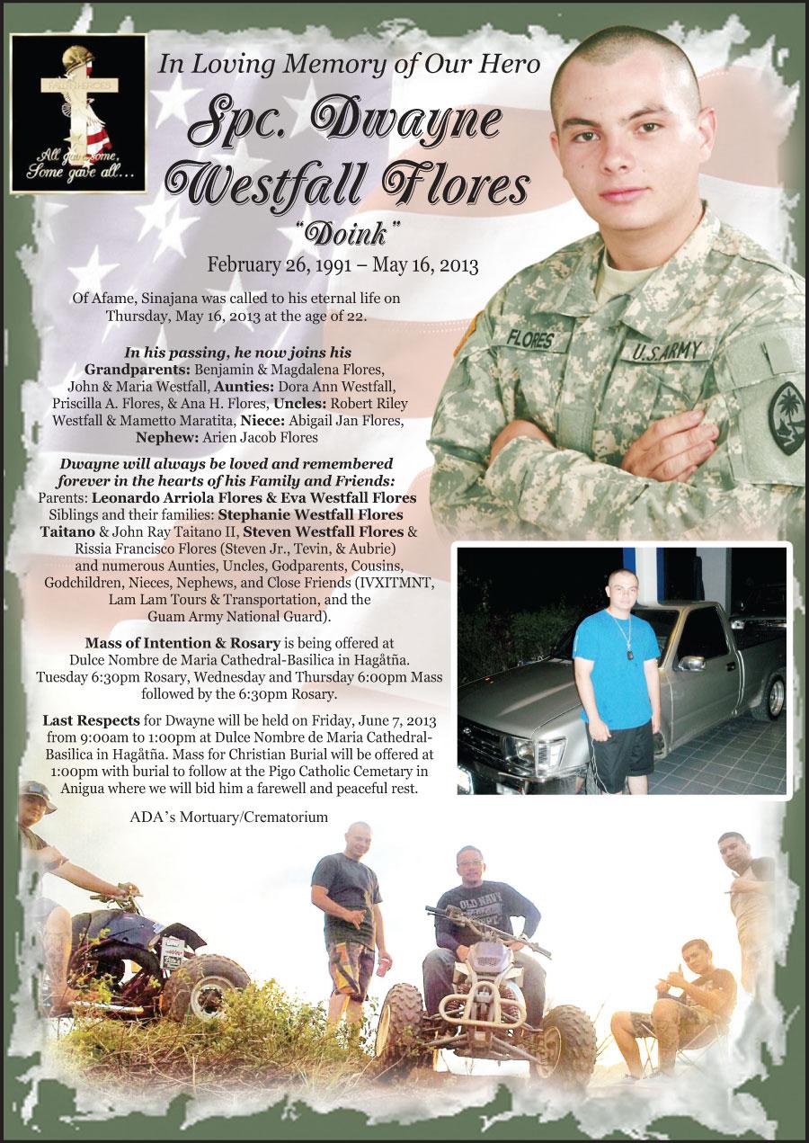 Spec Dwayne W. Flores