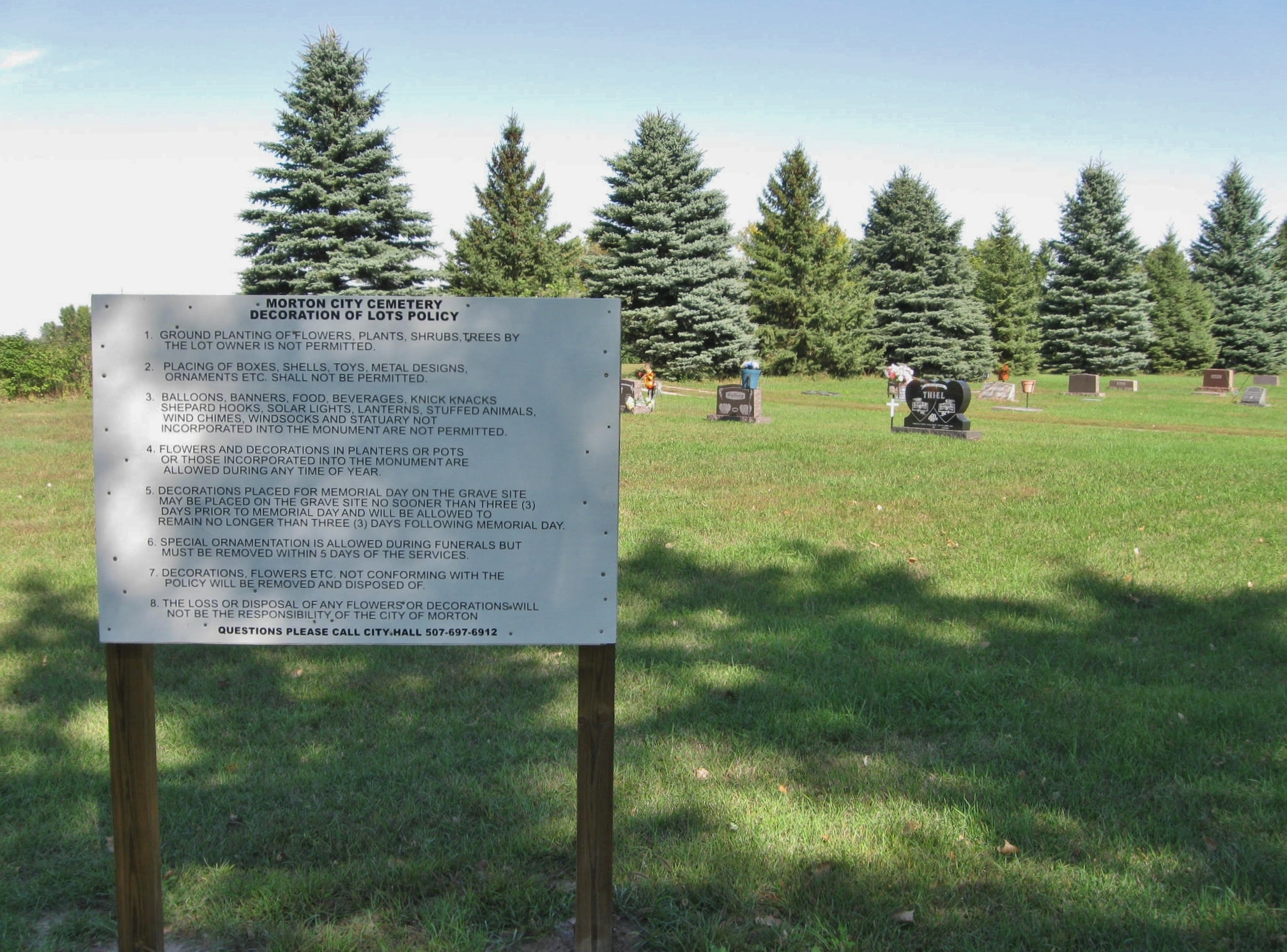 Morton City Cemetery