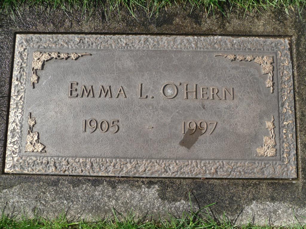 Emma L. <i>Fox</i> Brammer O'Hern