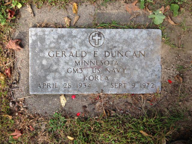 Gerald Edward Jerry Duncan