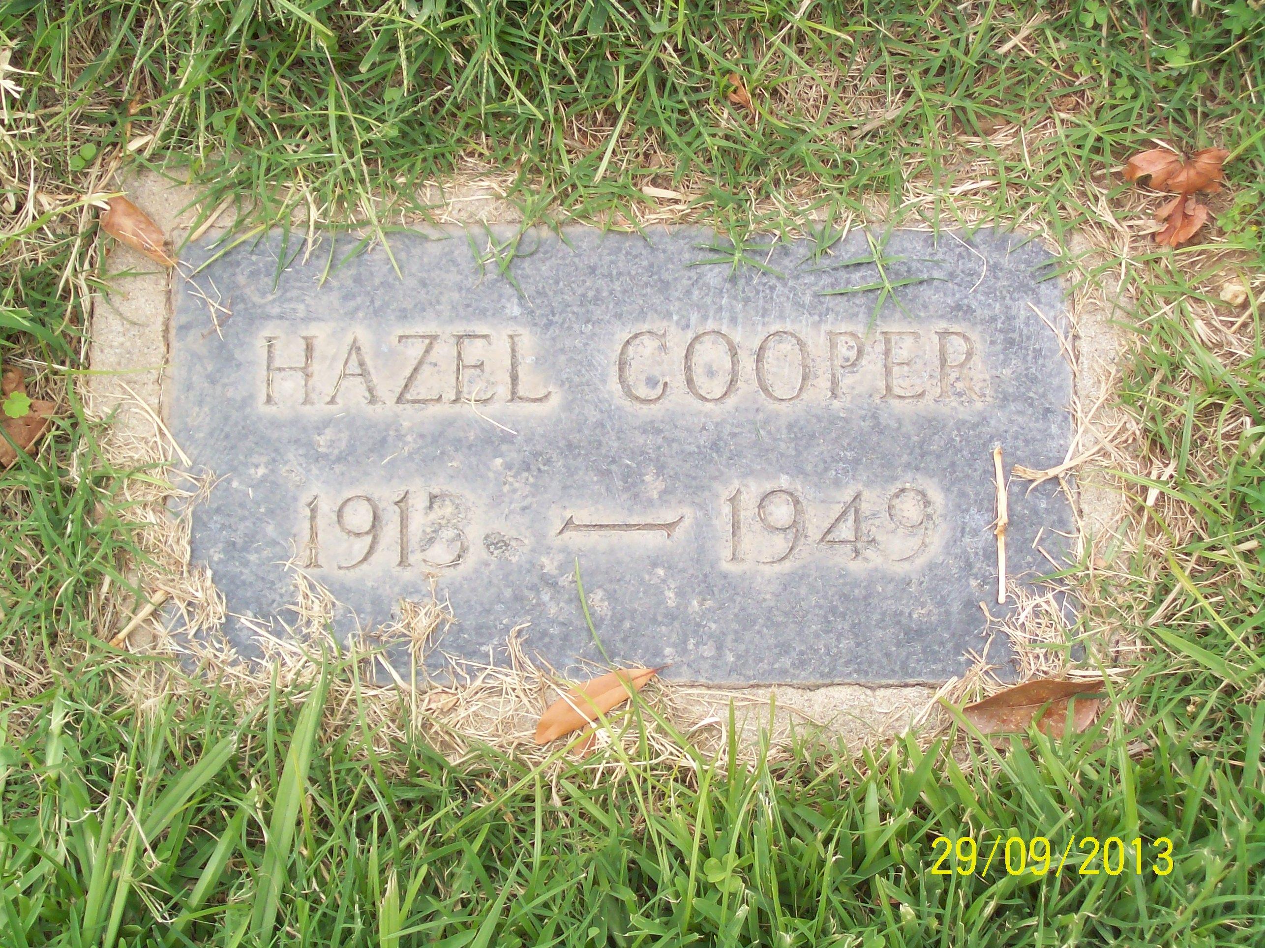 Hazel Cooper