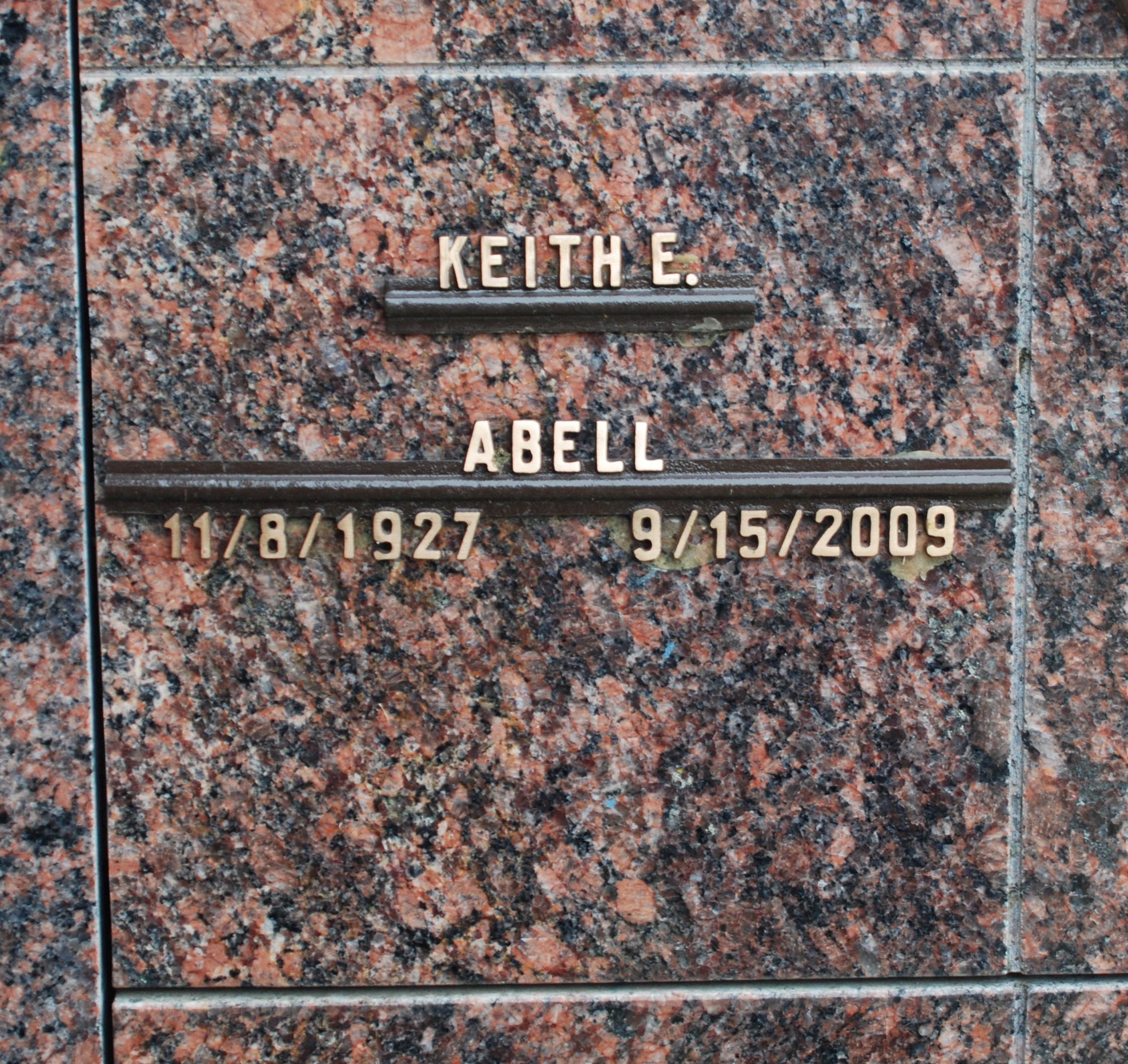 Keith E Abell