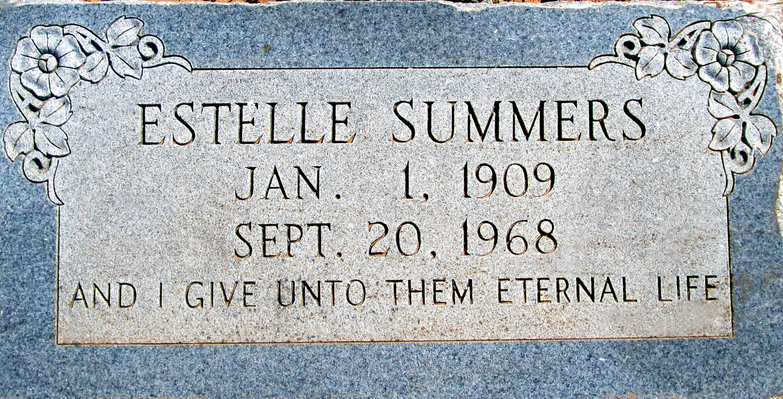 Dessa Estelle <i>Smith</i> Summers