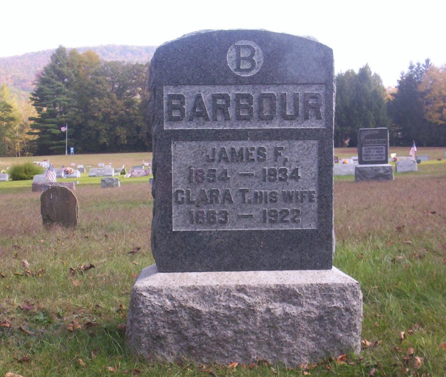 James F Barbour